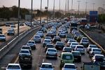 ترافیک سنگین در محور چالوس/کندی تردد در آزادراه کرج