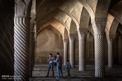 گردشگران نوروزی در مسجد وکیل شیراز