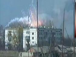 یوکرائن میں اسلحہ ڈپو میں خوفناک دھماکوں سے علاقہ لرز اٹھا