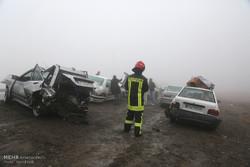 تصادف و ترافیک شدید در محور مشهد به تربت حیدریه