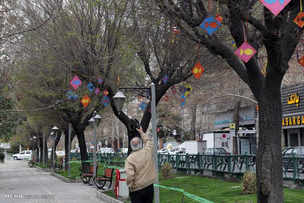 خلق آثار هنری در سطح شهر با رویکرد بهار در رویداد بهارستان