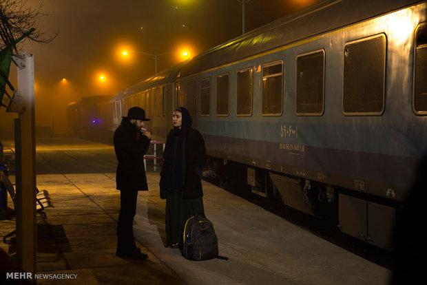 فیلمبرداری فیلم کوتاه «هیچ قطاری ایستگاه را ترک نمی کند»