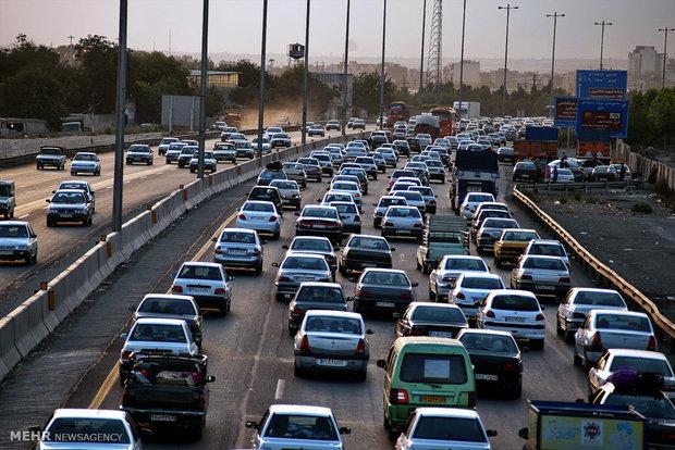 افزایش ۷ درصدی تردد جاده ای علیرغم ممنوعیت سفر بین شهرهای کرونایی