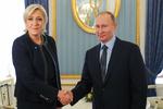 لوپن در مسکو با پوتین دیدار کرد