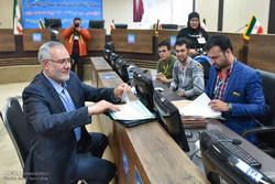 ۱۵۸۲ نفر در شهرستان شیراز نام نویسی کردند