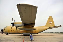 نمایشگاه هوایی راهیان نور در پایگاه چهارم وحدتی دزفول