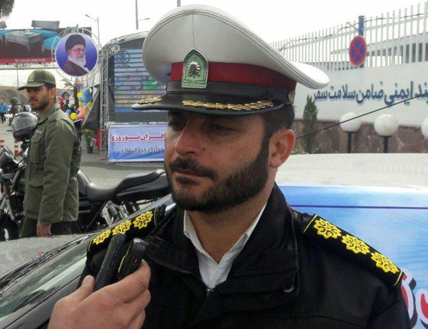 مسافران نوروزی شمال کشور در حال بازگشت به تهران/ترافیک سنگین هراز
