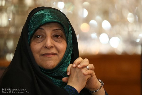 Iran VP for women's affairs calls for EU's reasonable dealing with JCPOA