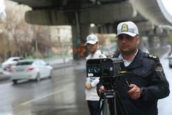 پلیس راه - تخلفات رانندگی - دوربین سرعت سنج