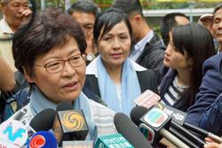رئیس منطقه هنگکنگ خواستار گفتگو برای خروج از بحران شد