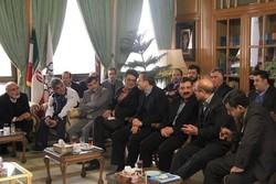دیدار نوروزی قالیباف با مدیران حمل ونقل شهری