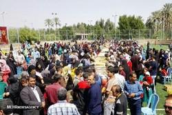 بزرگترین رنگینک جهان در بوشهر رونمایی شد