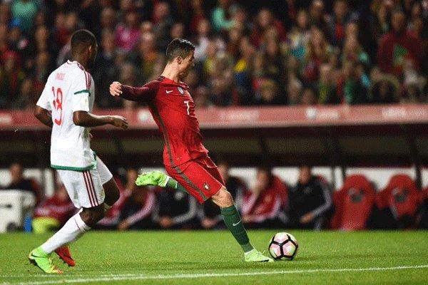 پیروزی قاطعانه پرتغال با درخشش رونالدو/ فرانسه ۳ امتیاز آسان گرفت