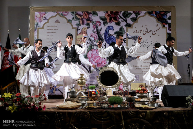 Global celebration of Nowruz held in Golsetan Palace