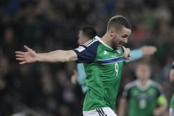 دیدار تیم های ملی فوتبال ایرلند شمالی و نروژ