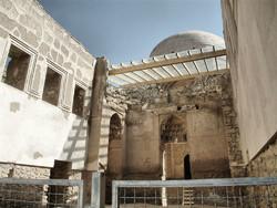 مرمت اضطراری آرامگاه چلبی اوغلو در سلطانیه آغاز شد