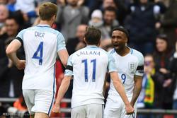 دیدار تیم های ملی انگلیس و لیتوانی