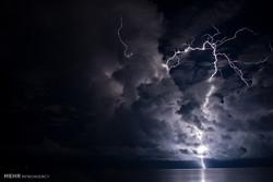 طوفان و رعد و برق در استرالیا
