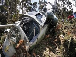 یوکرائن کا فوجی ہیلی کاپٹر گرنے سے 5 افراد ہلاک