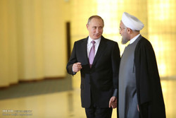 Rouhani, Putin to meet today in Yerevan