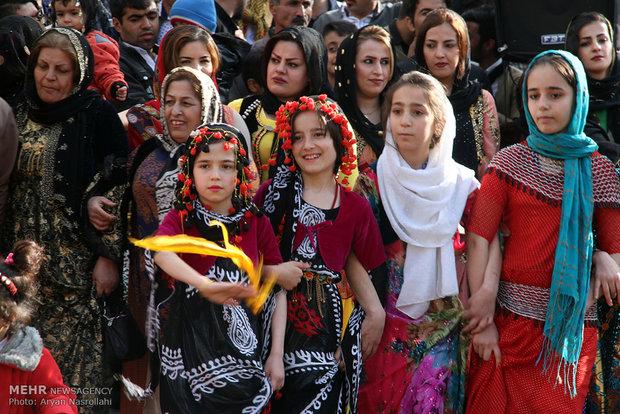 İran'ın Kürdistan eyaletinde Nevruz etkinlikleri