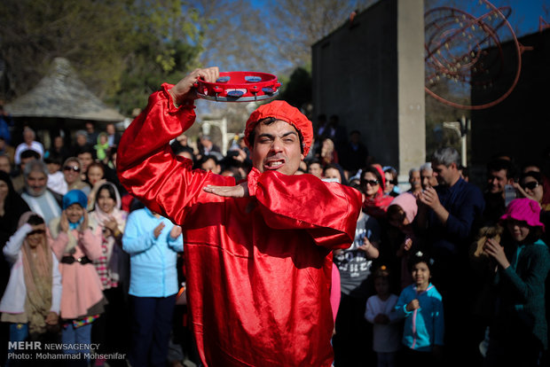 World Theater Day celebrated in Tehran
