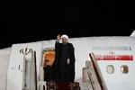 روحانی مسکو را به مقصد تهران ترک کرد