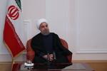 روحاني يشيد بالتعاون بين موسكو وطهران