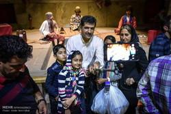 حضور گردشگران در حمام وکیل شیراز در ایام نوروز