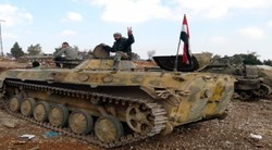 Syrian army establishes control over mountains in Palmyra