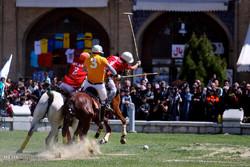 مسابقات چوگان در میدان امام اصفهان