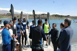 محمدرضاداورزنی از فدراسیون قایقرانی بازدید کرد