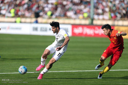 لقاء المنتخب الايراني والصيني ضمن التصفيات المؤهلة لكأس العالم/صور