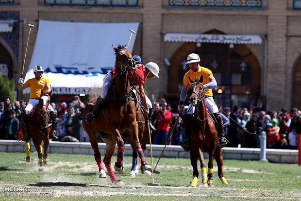 İsfahan'da polo yarışması