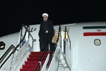 Pres. Rouhani arrives home after attending OIC summit