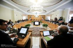 اولین جلسه هیئت دولت در سال 96