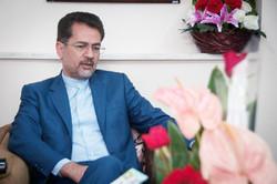 دیدار سرپرستی خبرگزاری مهر استان سمنان با حسینی شاهرودی نماینده شاهرود در مجلس