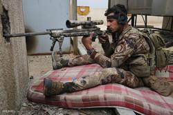 الشرطة العراقية تحاصر  الدواعش في منطقة الهرمات شمال غرب الموصل
