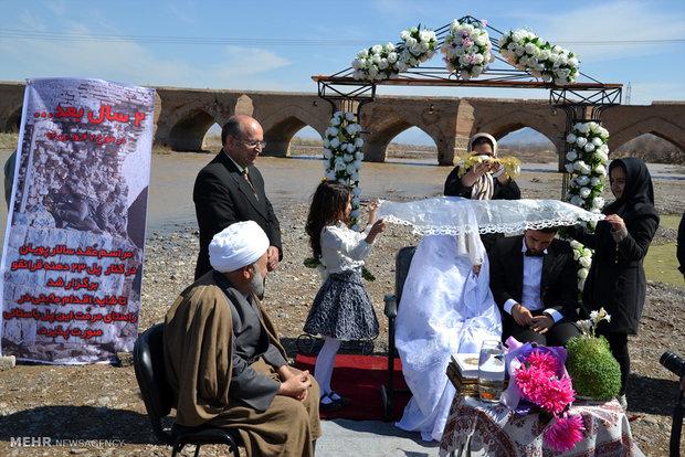 عکس عروسی عکس عروس و داماد عروسی ایرانی عروس و داماد جشن عروسی بیوگرافی سالار پویان اخبار میانه