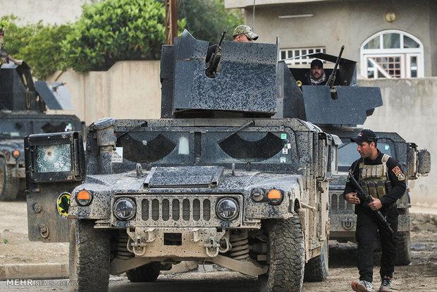 مكافحة الإرهاب تحرر حي الصحة الثانية في أيمن الموصل