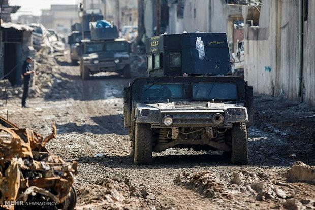 القوات العراقية على بعد 300 متر من مسجد النوري