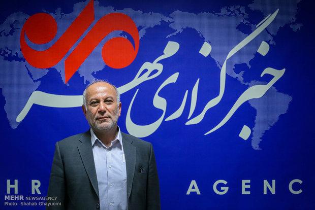 محمد درخشان رئیس فدراسیون جودو