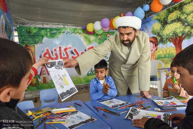 خیمه های معرفت دینی و آرامش بهاری در نوروز