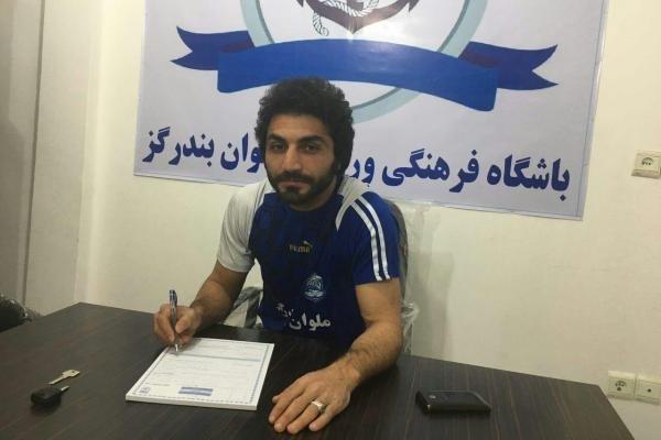 ۶ بازیکن با تیم فوتبال ساحلی ملوان بندرگز قرارداد امضا کردند