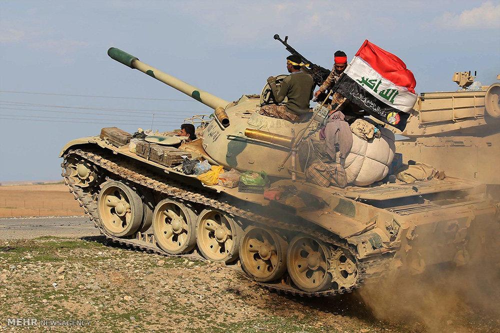 """عمليات """"قادمون يا تلعفر"""" : تدمير تحصينات داعش باتجاه مركز المدينة"""