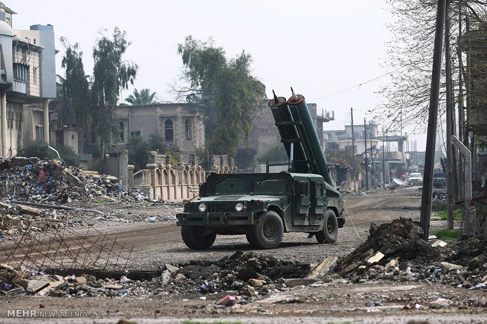 مقتل 6 من عناصر داعش في الجانب الأيمن من الموصل
