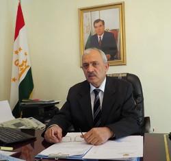 Tajikistan Ambassador to Iran Emomzoda Nematullo