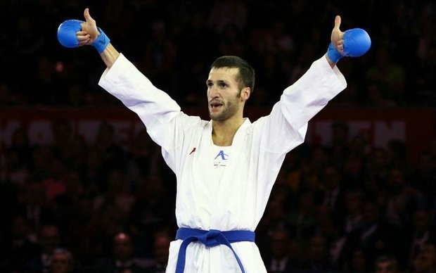Iran's Mehdizadeh takes gold at Karate 1-Premier League