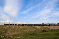 توضیحات راه آهن درباره خروج ۲ واگن قطار مسافری اهواز – مشهد