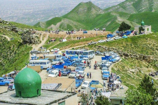 مقام خالد النبي في شمال إيران